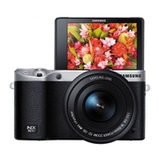 Samsung NX500 4K Video Record Mirrorless Camera 16-50mm Lens (Black) +