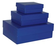 Small Large Laminated Rectangular Gift Boxes With Lids
