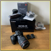 Canon EOS R with RF 24-105mm f/4L IS USM Lens